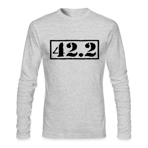 Top Secret 42.2 - Men's Long Sleeve T-Shirt by Next Level