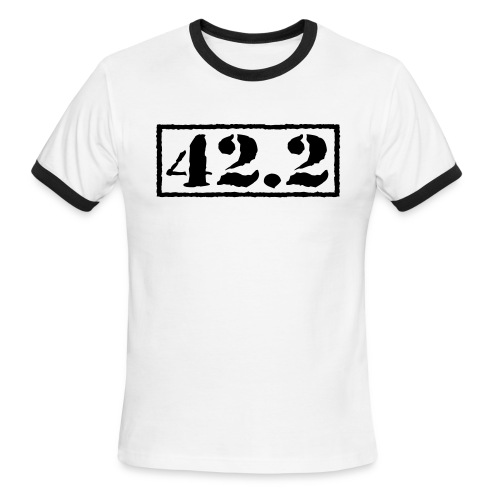 Top Secret 42.2 - Men's Ringer T-Shirt