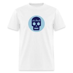 Dataloaf Skull Logo Vector - Men's T-Shirt