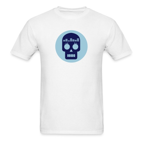 Dataloaf Skull Logo Vector - Men's T-Shirt