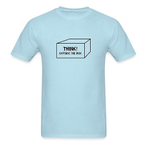 Catchy Phrases (Think Outside The Box) - Men's T-Shirt