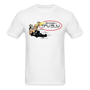 Jim Union is Spy Guy - Men's T-Shirt