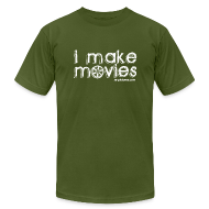 T-Shirts ~ Men's T-Shirt by American Apparel ~ I MAKE MOVIES