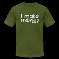 T-Shirts ~ Men's T-Shirt by American Apparel ~ I MAKE MOVIES
