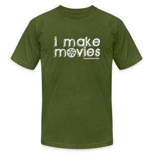 I MAKE MOVIES - Men's T-Shirt by American Apparel