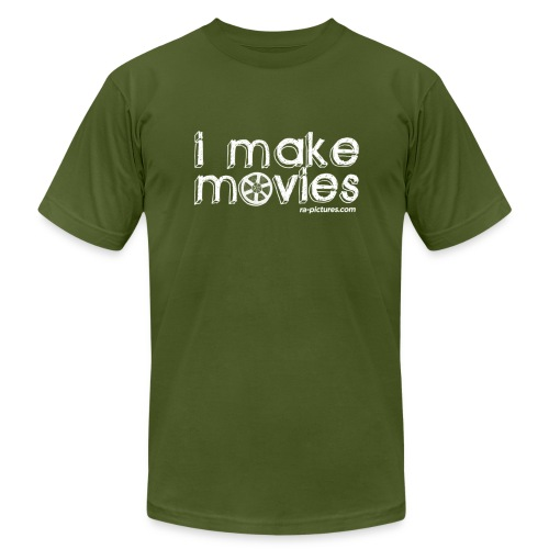 I MAKE MOVIES - Men's Fine Jersey T-Shirt