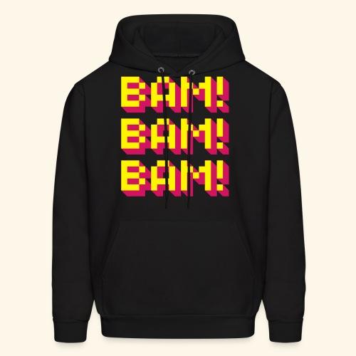 Bam! Bam! Bam! - Men's Hoodie