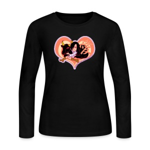 Girl and Ox - Women's Long Sleeve Jersey T-Shirt