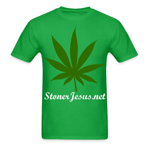 Marijuana Leaf - Men's T-Shirt