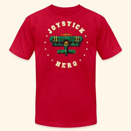Joystick Hero 1 (Vintage Print) - Men's Fine Jersey T-Shirt
