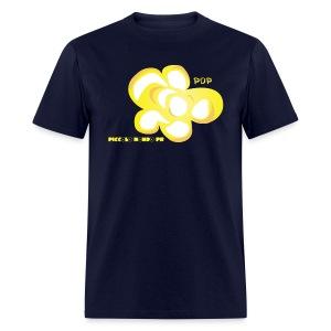 LOVE POPCORN MEN - Men's T-Shirt