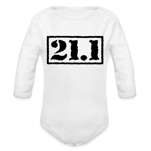 Top Secret 21.1 - Organic Long Sleeve Baby Bodysuit