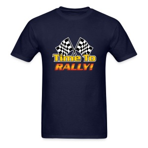Fun Phrases (Time To Rally) - Men's T-Shirt