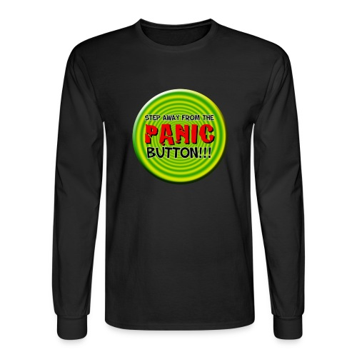 I Love Your Panic Button - Men's Long Sleeve T-Shirt