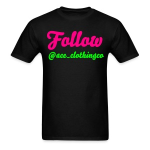Follow Us - Men's T-Shirt