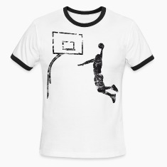 Basketball Dunk Board Vintage Look Retro T-Shirts