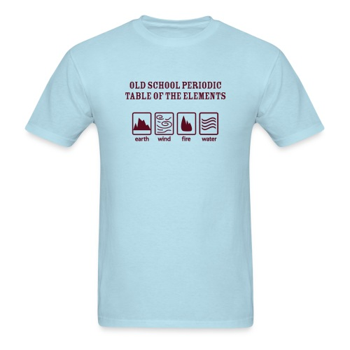 Old School Periodic Table - Men's T-Shirt