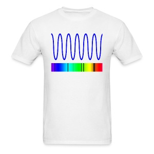 Two sided Doppler Shift Shirt - Men's T-Shirt