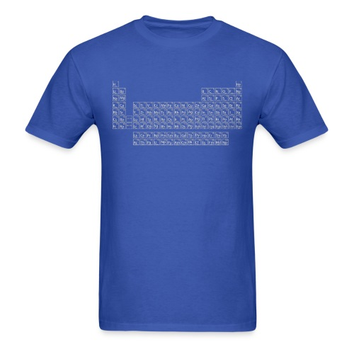 Periodic Table - Men's T-Shirt