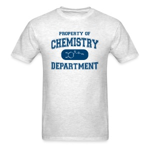 Property of Chemistry Department - Men's T-Shirt