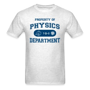 Property of Physics Department - Men's T-Shirt
