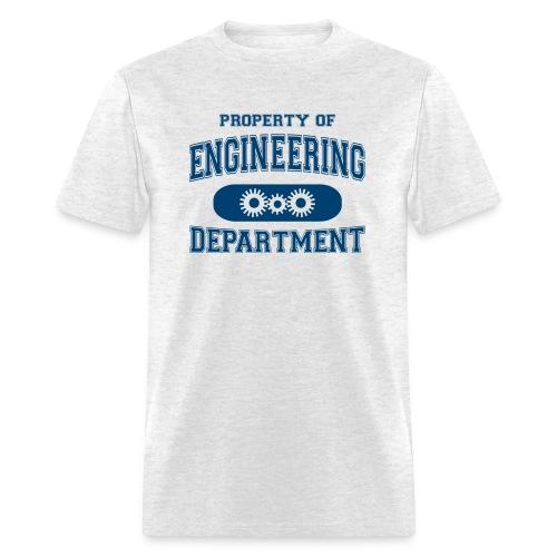 Property of Engineering Department - Men's T-Shirt