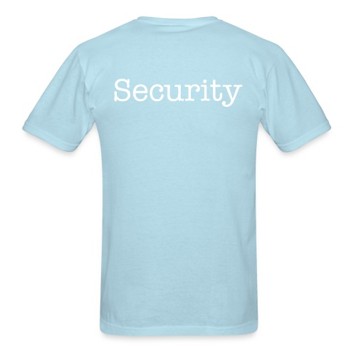 Jordypie Security Shirt - Men's T-Shirt