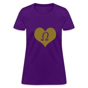 Omega Sweetheart - Women's T-Shirt