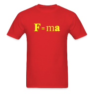 T-Shirts ~ Men's T-Shirt ~ F=ma