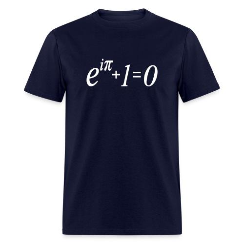 e^i(pi) + 1 = 0 - Men's T-Shirt