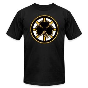 Boston Hockey Shamrock - Men's Fine Jersey T-Shirt