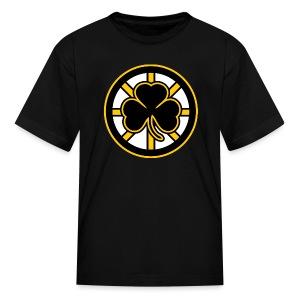 Boston Hockey Shamrock - Kids' T-Shirt