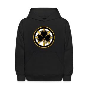 Boston Hockey Shamrock - Kids' Hoodie