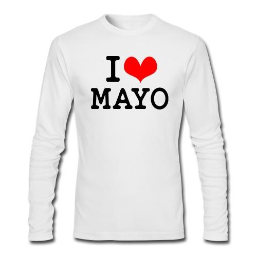I Love Mayo - Men's Long Sleeve T-Shirt by Next Level
