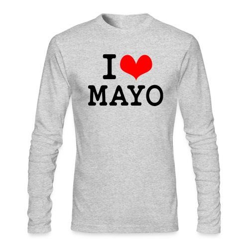 I Love Mayo - Men's Long Sleeve T-Shirt by Next Level