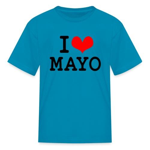 I Love Mayo - Kids' T-Shirt