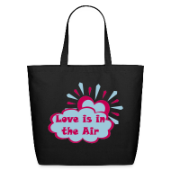 Bags & backpacks ~ Eco-Friendly Cotton Tote ~ Love is in the Air