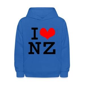 I Love NZ - Kids' Hoodie