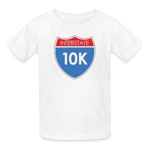 Interstate 10K - Kids' T-Shirt