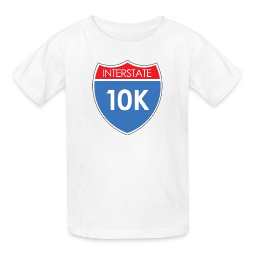 Interstate 10K - Kids' T-Shirt