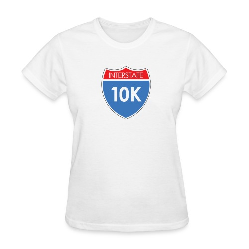Interstate 10K - Women's T-Shirt