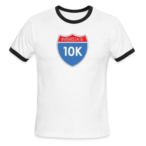 Interstate 10K - Men's Ringer T-Shirt