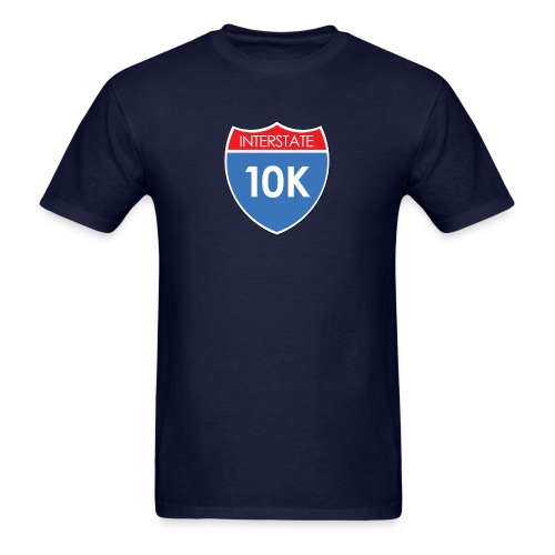 Interstate 10K - Men's T-Shirt