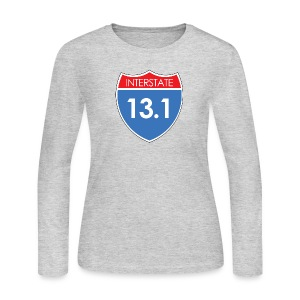 Interstate 13.1 - Women's Long Sleeve Jersey T-Shirt
