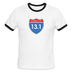 Interstate 13.1 - Men's Ringer T-Shirt