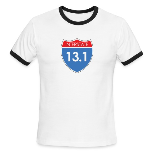 Interstate 13.1 - Men's Ringer T-Shirt