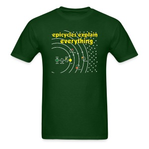 Epicycles Explain Everything - Men's T-Shirt