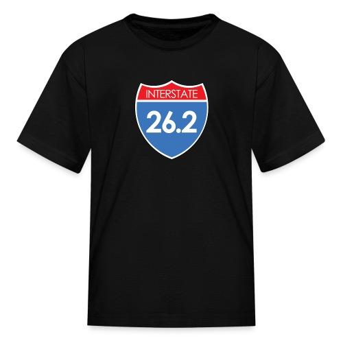 Interstate 26.2 - Kids' T-Shirt