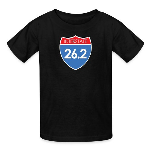 Interstate 26.2 - Kids' T-Shirt