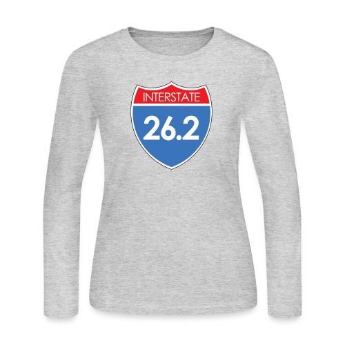 Interstate 26.2 - Women's Long Sleeve Jersey T-Shirt